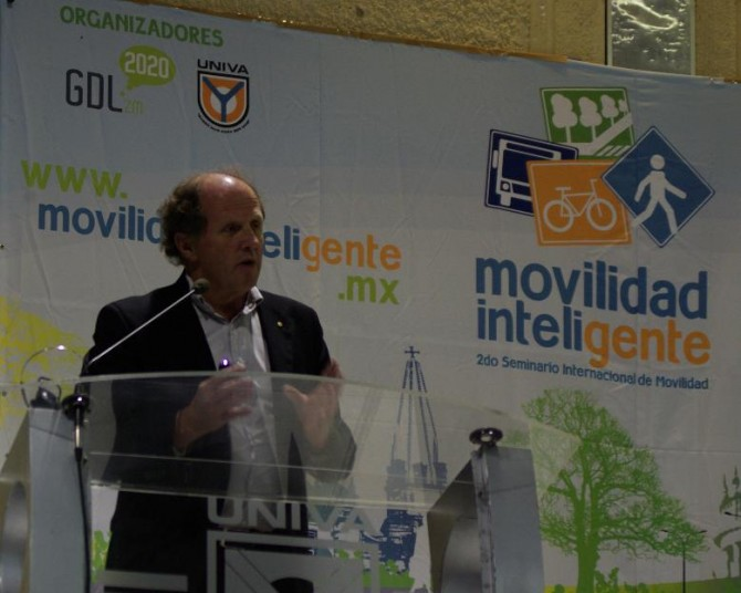 "Guadalajara2020: ""Movilidad Inteligente"" inauguration with architect Rob Adams"