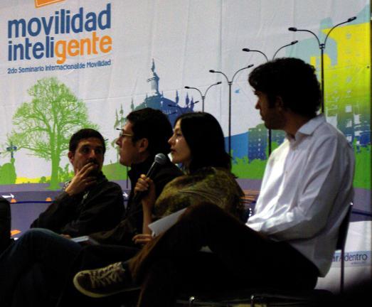 Sdo Seminario Internacional de Movilidad Inteligente (International Intelligent Mobility Seminar), Guadalajara, Mexico