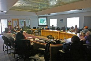 Workshop to discuss priority conservation areas based on a regional opportunities and constraints analysis, June, 2014